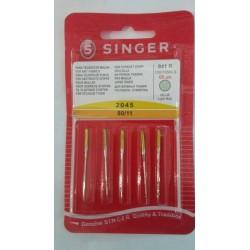 agujas singer 90 punto maquinas de coser