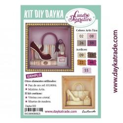 Kit DIY Dayka cuadro bolso...