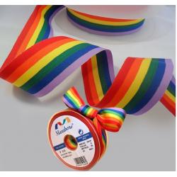 Cinta bandera LGTBI 12MM