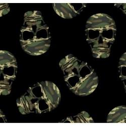 Tela Calaveras camuflaje