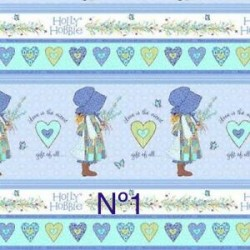 Telas Holly Hobbie Blue All...
