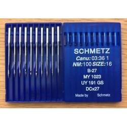 Agujas Schmetz DCx27 para...
